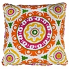 Solis Orange Throw Pillow