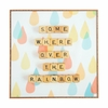 Somewhere Over The Rainbow Framed Wall Art