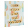 Somewhere Over The Rainbow Wrapped Canvas Art