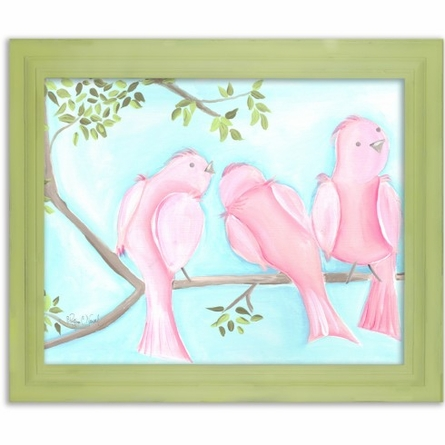 Songbirds One Canvas Reproduction
