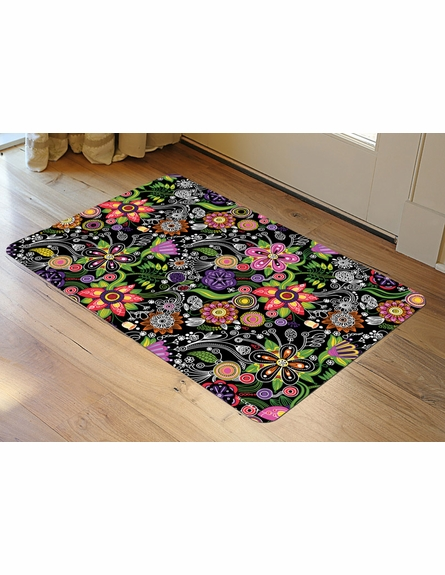 Sonic Bloom Floor Mat