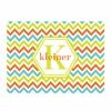 Sorbet Chevron Personalized Cutting Board