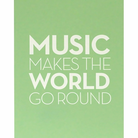 Sound of Music Art Print
