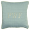 Spa Blu Throw Pillow - Square