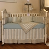 Spa Blue Crib Bedding