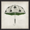 Spades Umbrella Framed Wall Art