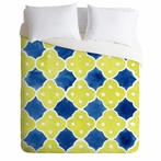Spanish Tiles Lightweight Duvet Cover