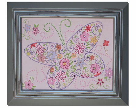 Sparkle Butterfly Hand Painted Art