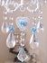 Sparkly Sea Blue Crystal Suncatcher