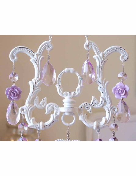 On Sale Sparkly Soft Lavender Crystal Suncatcher