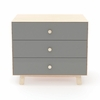 On Sale Sparrow 3 Drawer Dresser in Birch and Grey