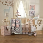 Sparrow 4-Piece Crib Bedding Set