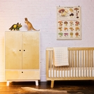 Sparrow Convertible Crib in Birch