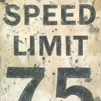 Speed Limit Canvas Wall Art