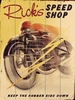 Speed Shop Vintage Wood Sign