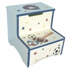 Sports Step Stool with Storage