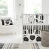 Spot On Charcoal Crib Bedding Set