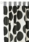 Spot On Charcoal Curtain Panels - Set of 2