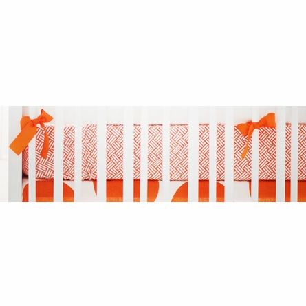 Spot On Tangerine Crib Bedding Set