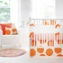 Spot On Tangerine Crib Bumper