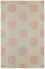 Spots Rug in Peony Pink