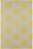 Spots Rug in Yellow