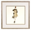 Spotted Shopping Framed Fashion Barbie Print