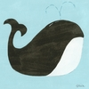 Spouty the Whale Canvas Reproduction