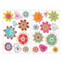 Spring Blooms Flower Transfer Wall Decal