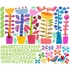 Spring Jazz Peel & Place Wall Stickers