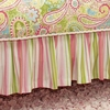 Spring Paisley Bed Skirt
