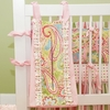 Spring Paisley Diaper Stacker