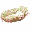 Spring Paisley Moses Basket