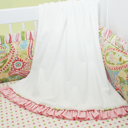Spring Paisley Toddler Bedding Set