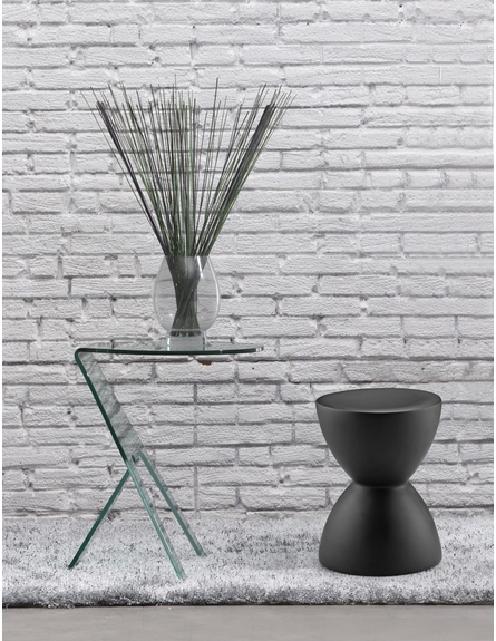 Spring Stool in Black