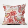 Sprinkling Sound Throw Pillow