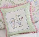 Squirrel Dot Decorative Pillow