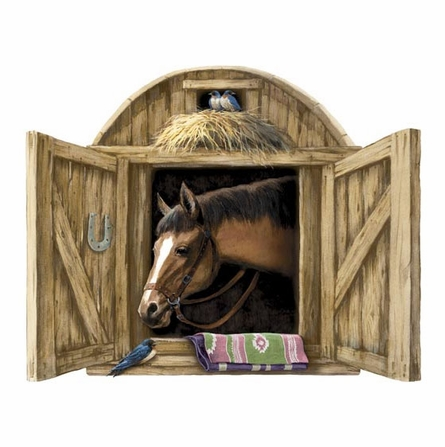 Stable Door Peel and Stick Wall Mural