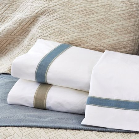 Standard Sheet Set with Linen Trim