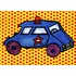 Star Car Canvas Wall Art