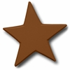Star Chocolate Drawer Pull