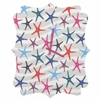 Star Fish Quatrefoil Wall Clock