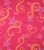 Star Glitter Magenta Orange & Pink Wallpaper