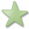 Star Pastel Green Drawer Pull