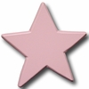 Star Pastel Pink Drawer Pull