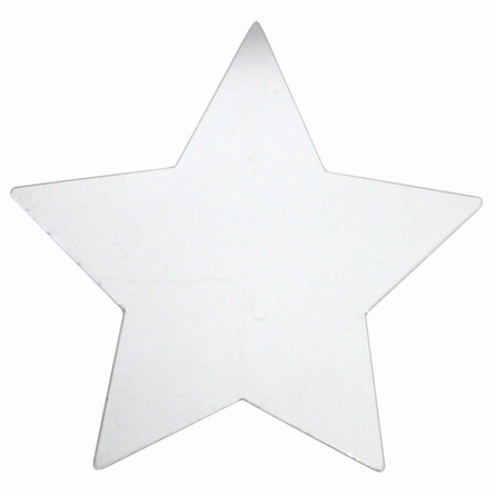Star Peel & Stick Wall Mirror Applique