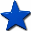 On Sale Star Primary Blue Drawer Pull
