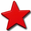 Star Primary Red Drawer Pull