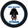 Star Wars Inspired Personalized Plate