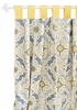 Starburst in Gold Curtain Panels - Set of 2